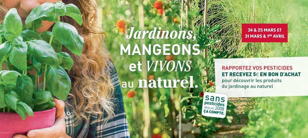 Jardinons, mangeons et vivons au naturel