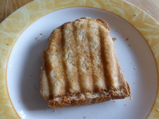 Nos croque-monsieur sans beurre ni fromage