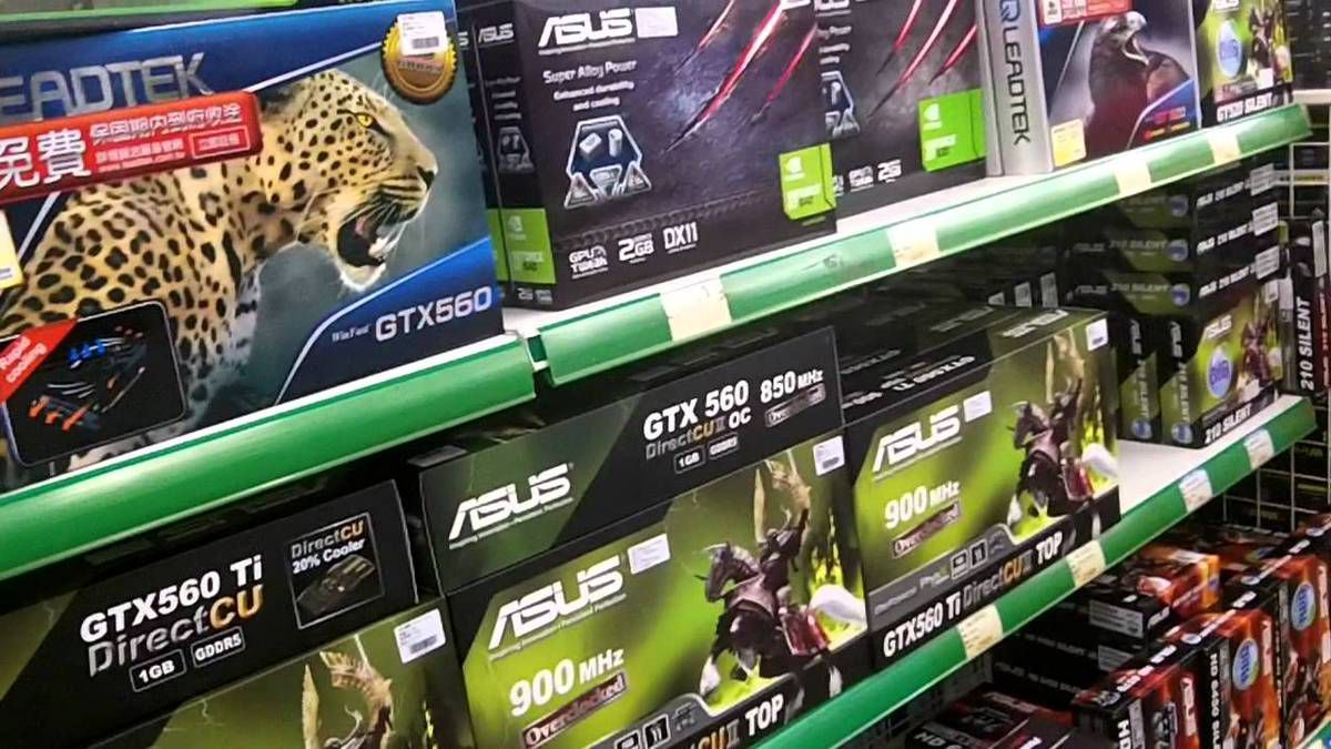 buying graphics card