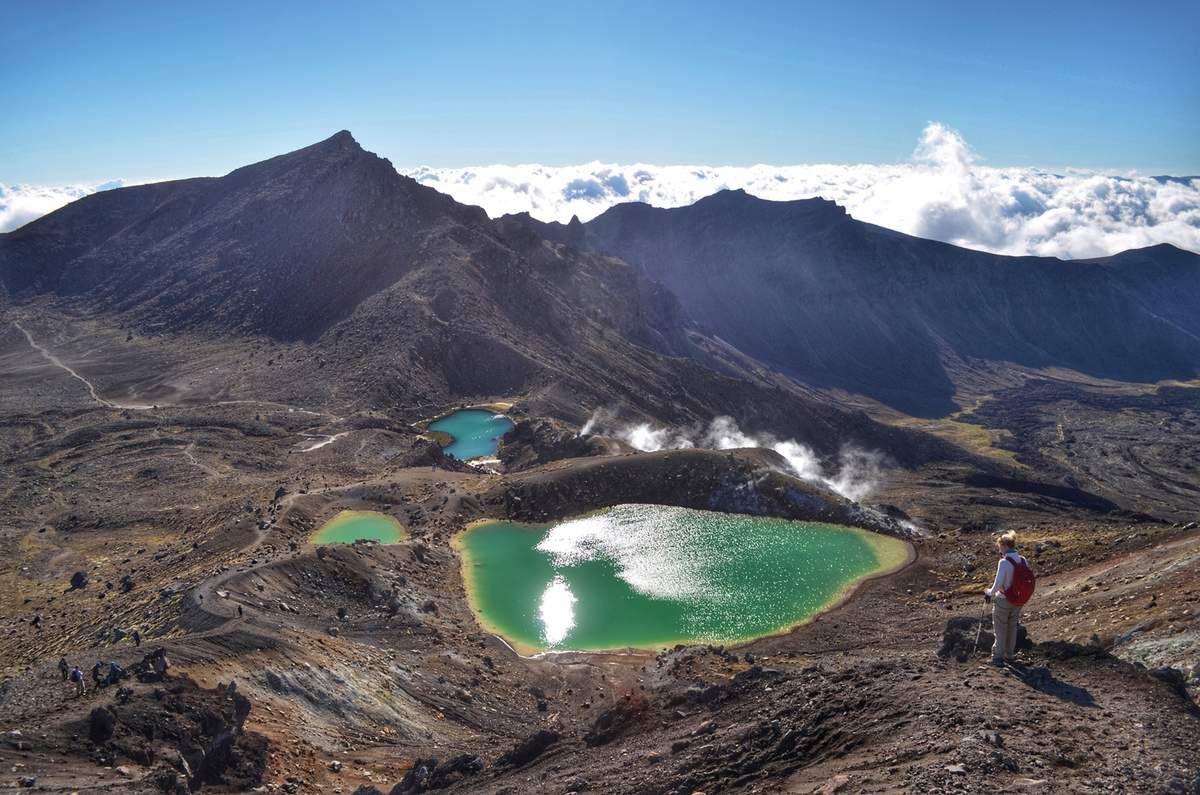Vue au sommet du Tongario