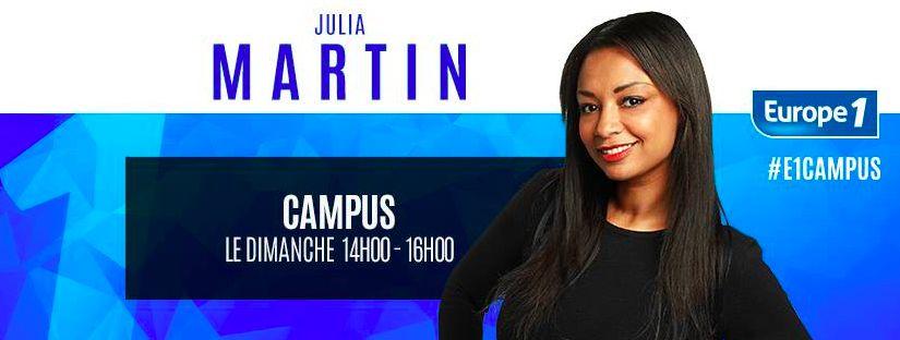 " Exclu Planète TV  Europe 1 arrête ""Campus"" de Julia Martin"