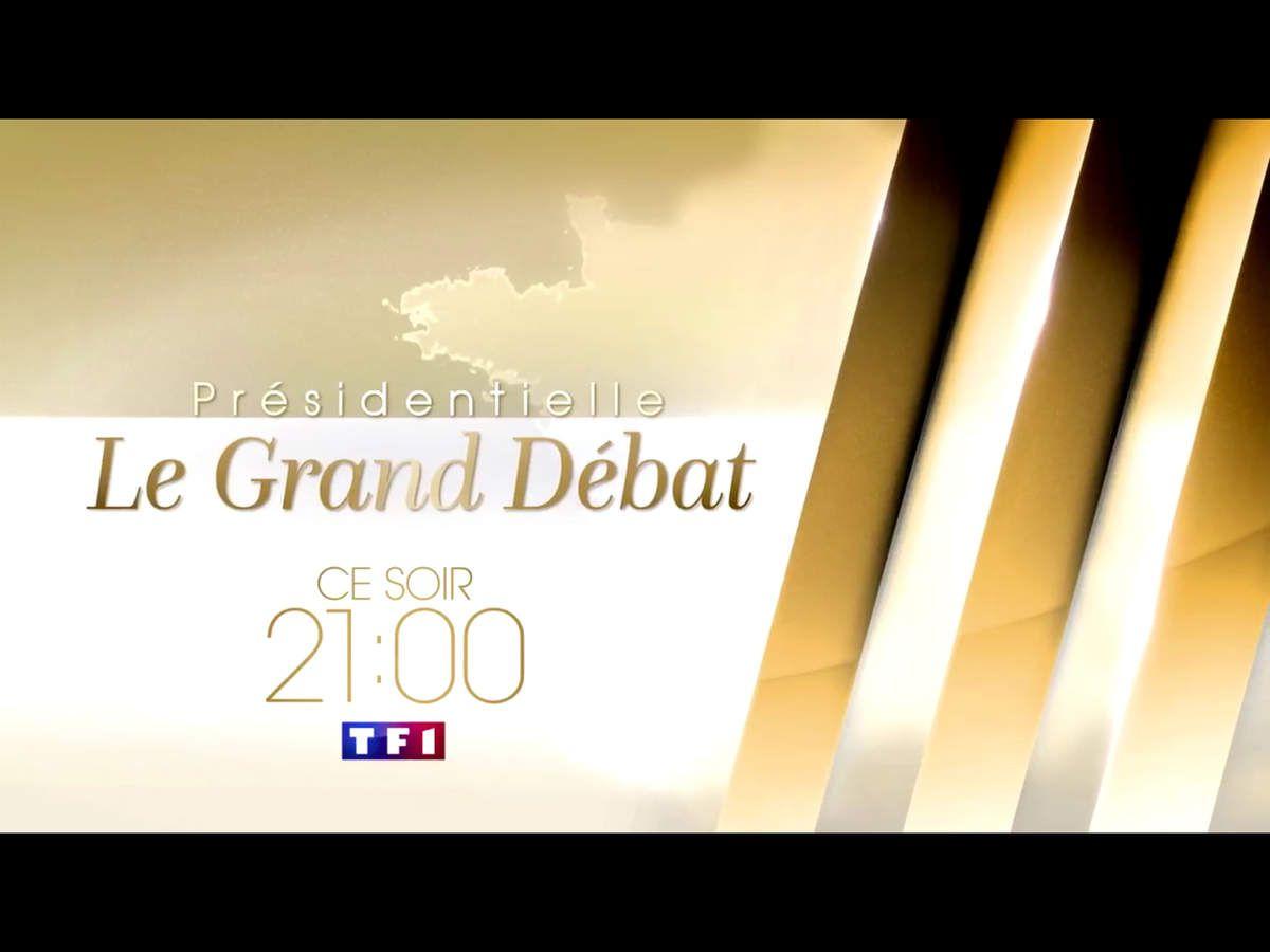 &quot&#x3B;Présidentielle : Le grand débat&quot&#x3B; ce soir sur TF1