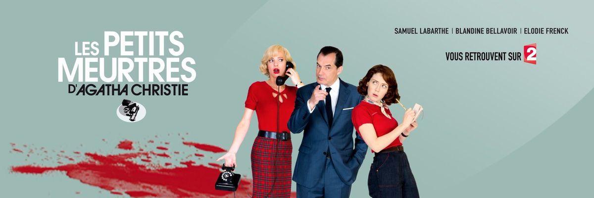  Rentrée TV  France 2 diffuse la saison 3 des &quot&#x3B;petits meurtres d'Agatha Christie&quot&#x3B; dès le 1er Septembre