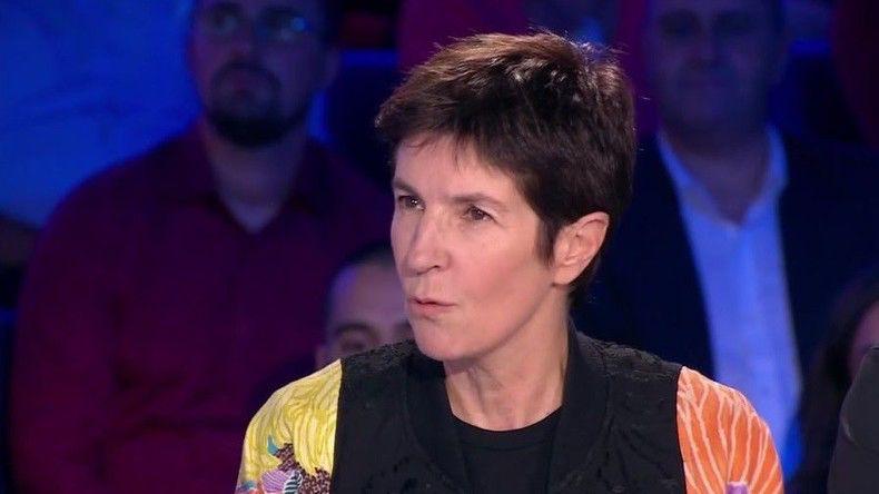 Christine Angot quitte le plateau de «On n'est pas couché» en larmes et en hurlant