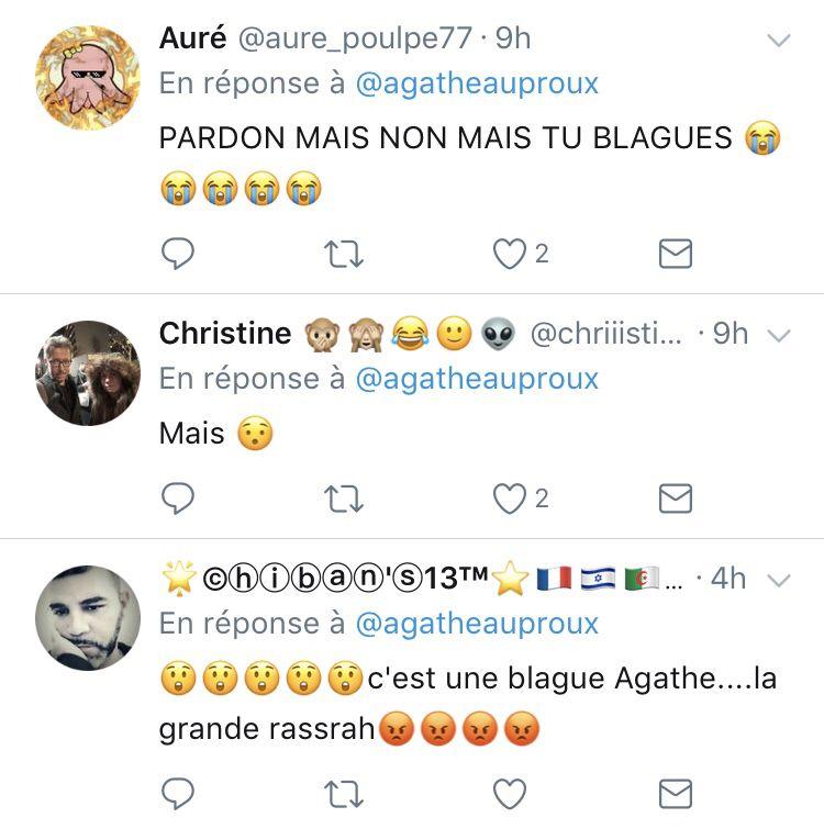Agathe Auproux quitte TPMP !
