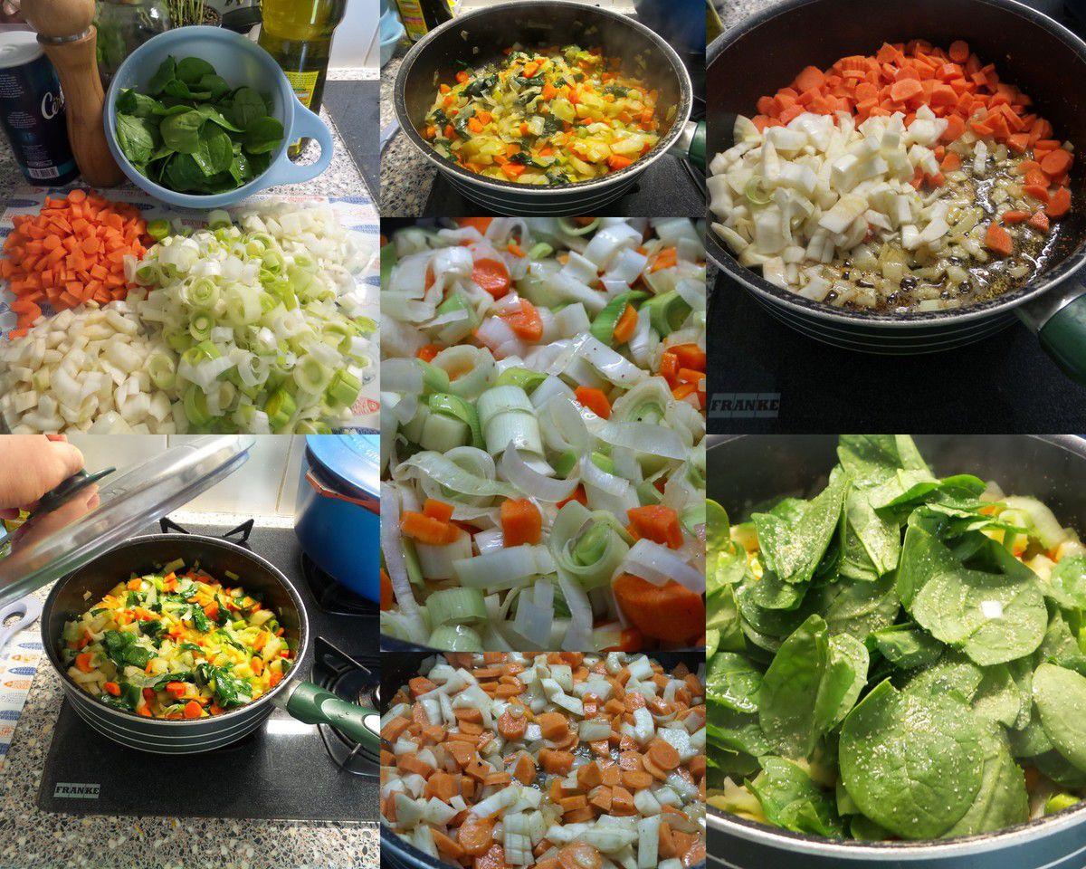 Julienne de légumes...facile