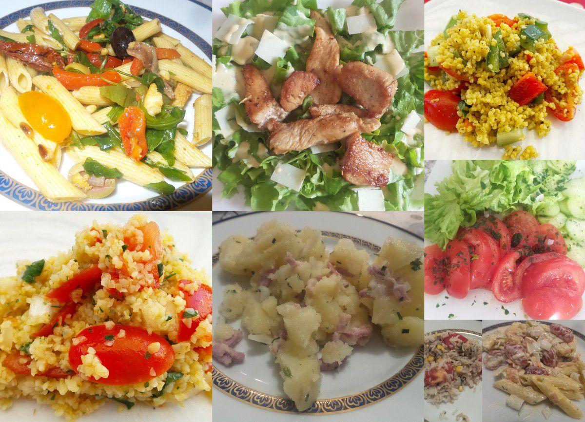 Les salades...