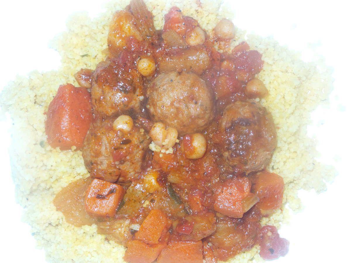 couscous boulettes bœuf/porc.
