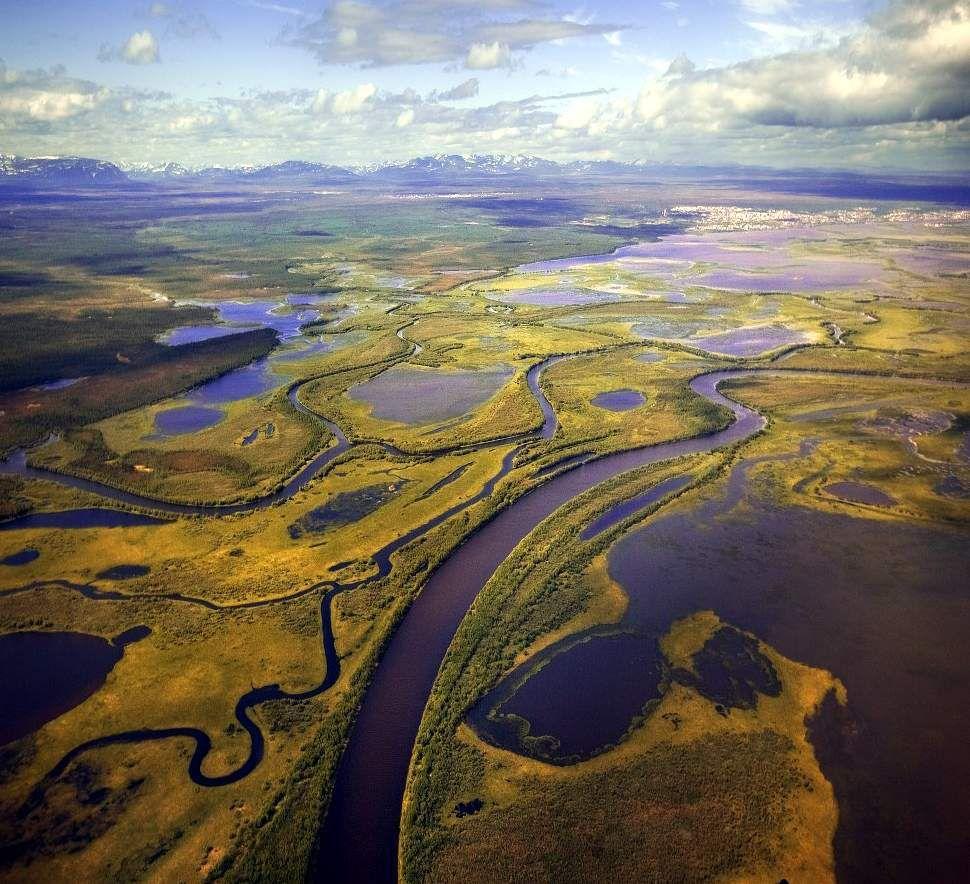 Paysage de la Péninsule de Yamal.