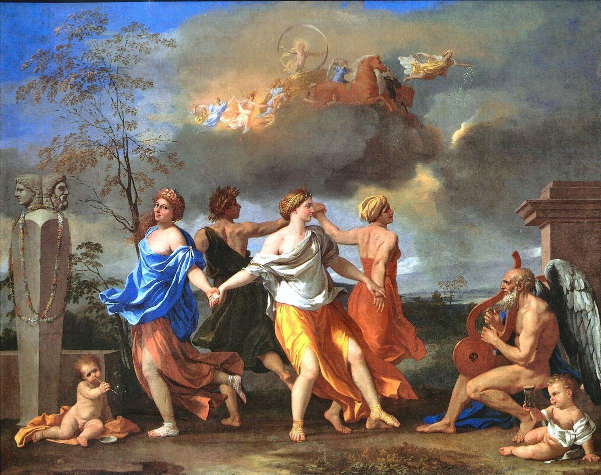 """""""La danse de la vie humaine"""" - Nicolas POUSSIN"""