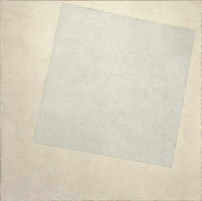 White on White (Malevich, 1918)