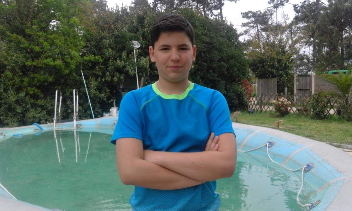 Lorenzo, 14 ans, au lieu de vie depuis 2 ans. Je fais du judo depuis 3 ans et j'ai remporté la médaille d'or de régionale de France.