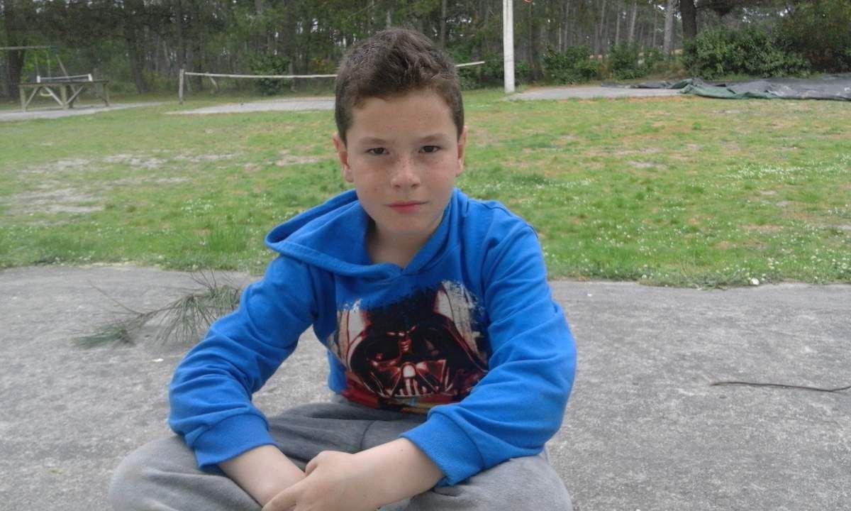 Arnaud Victor. J'ai 8 ans et je suis sur le lieu de vie depuis 2 mois.