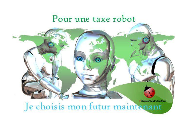 Pour une taxe robot, je choisis mon futur maintenant