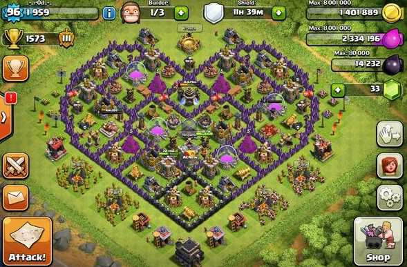 clash of clans hack version download unlimited gold elixir and gems