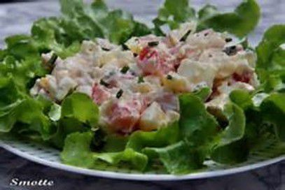 Salade piémontaise a ma façon
