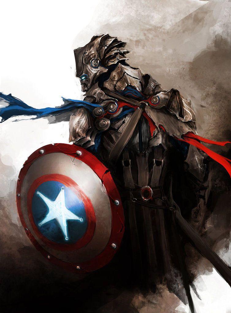 Fan Arts #1 : Les Avengers par Daniel Kamarudin