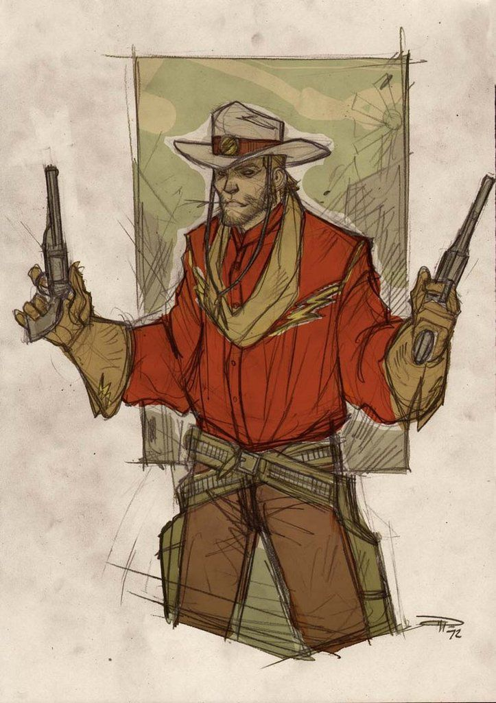 Fan Arts #4 : Denis Medri nous présente une version western de la Justice League
