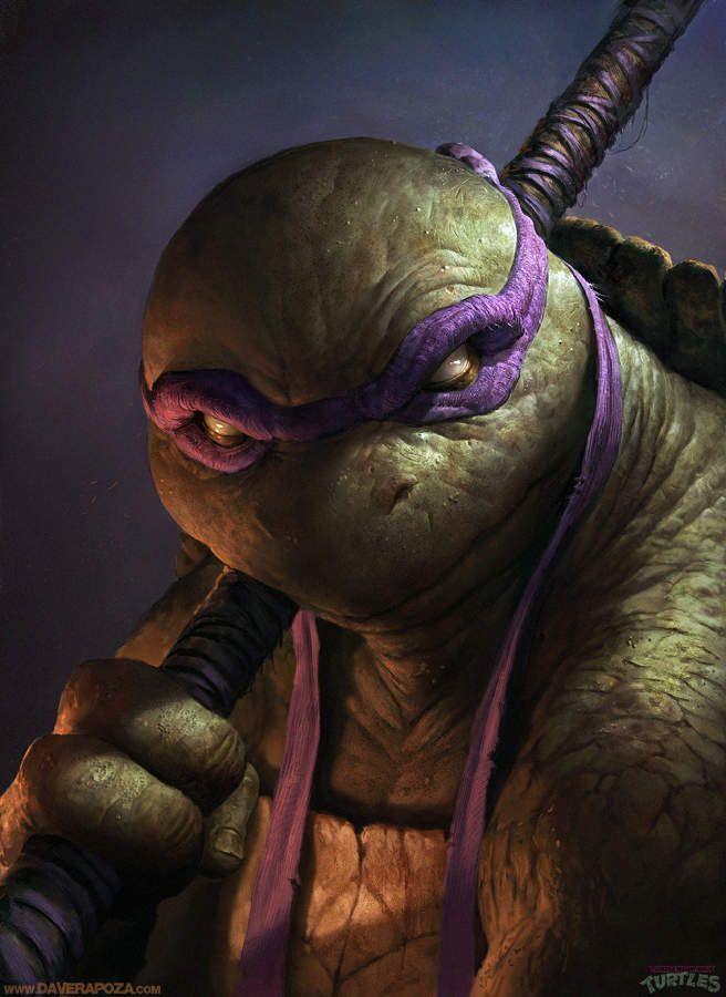 Fan Arts #6: Dave Rapoza nous présente sa vision des Tortue Ninja
