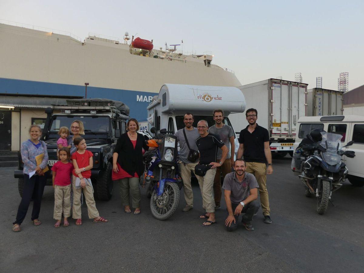 6 Grenzerfahrungen Bandar Abbas (Iran) - Sharjah (VAE)
