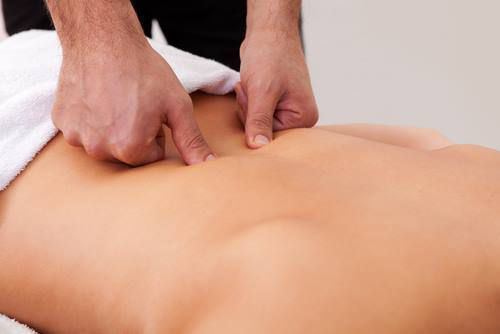 massage des points de knap