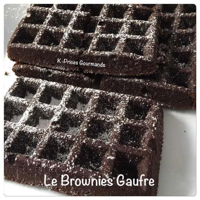 Le Brownies Gaufre
