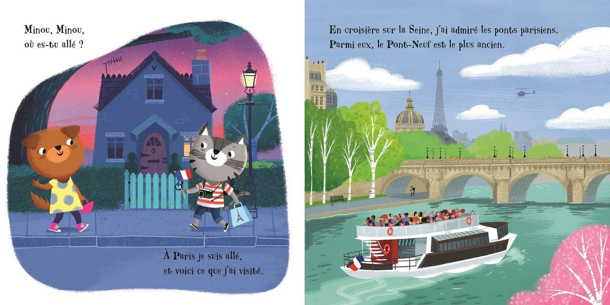 Minou, Minou, où es-tu allé ? Paris