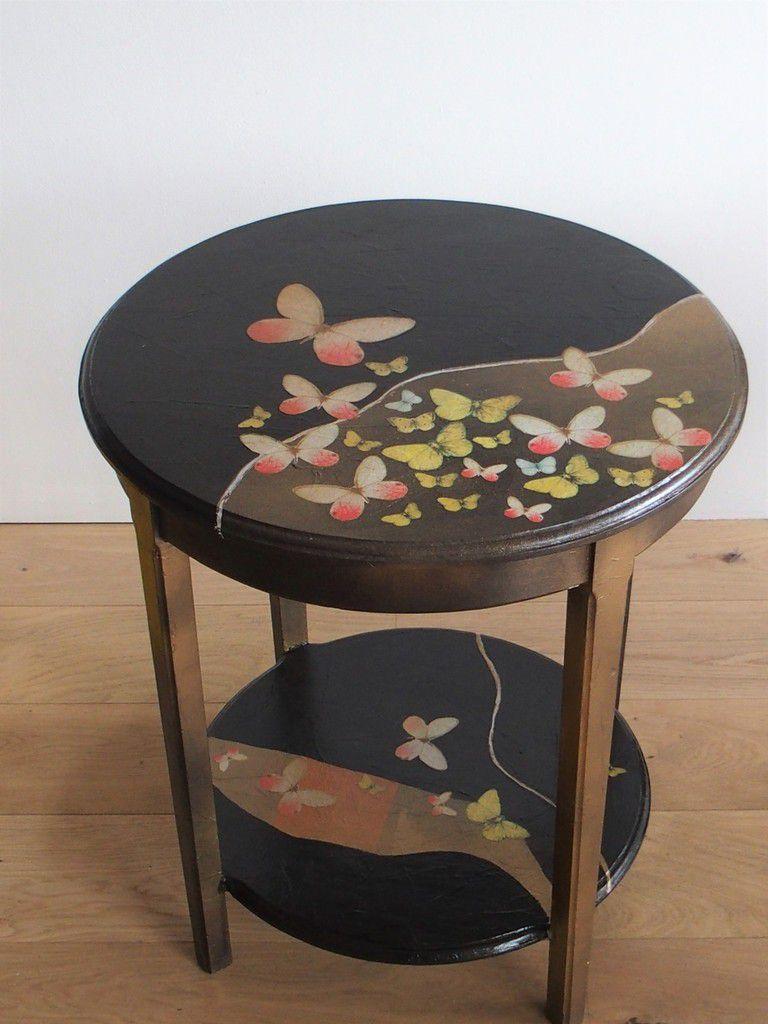 une petite table customisée