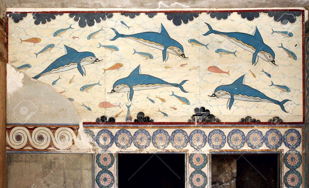 Les dauphins de Cnossos