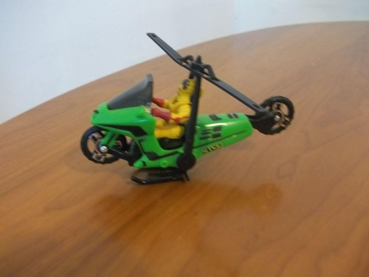 CONDOR  avec brad turner, la moto se change en hélicoptère