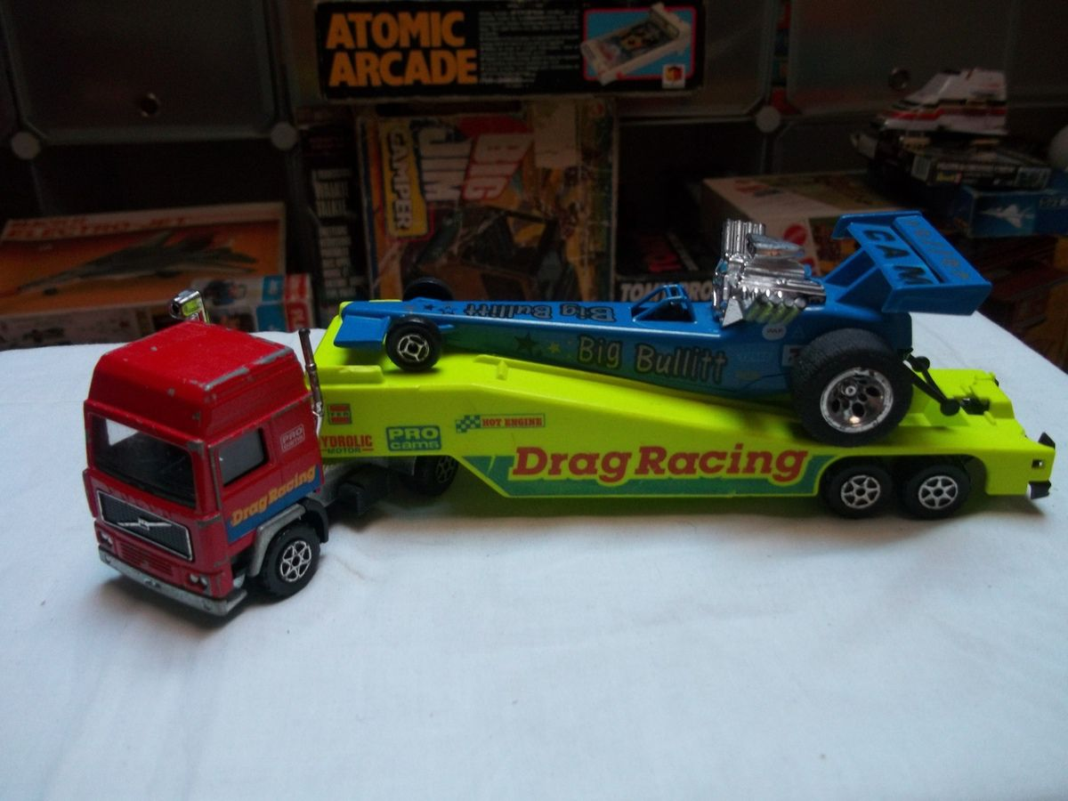 Volvo drag racing 1/60, Kenworth porte char 1/60