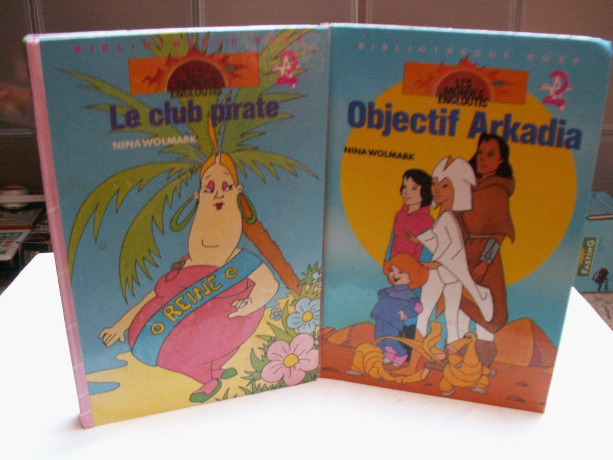 bibliothèque rose le club pirate avril 1986, objectif arcardia mai 1986