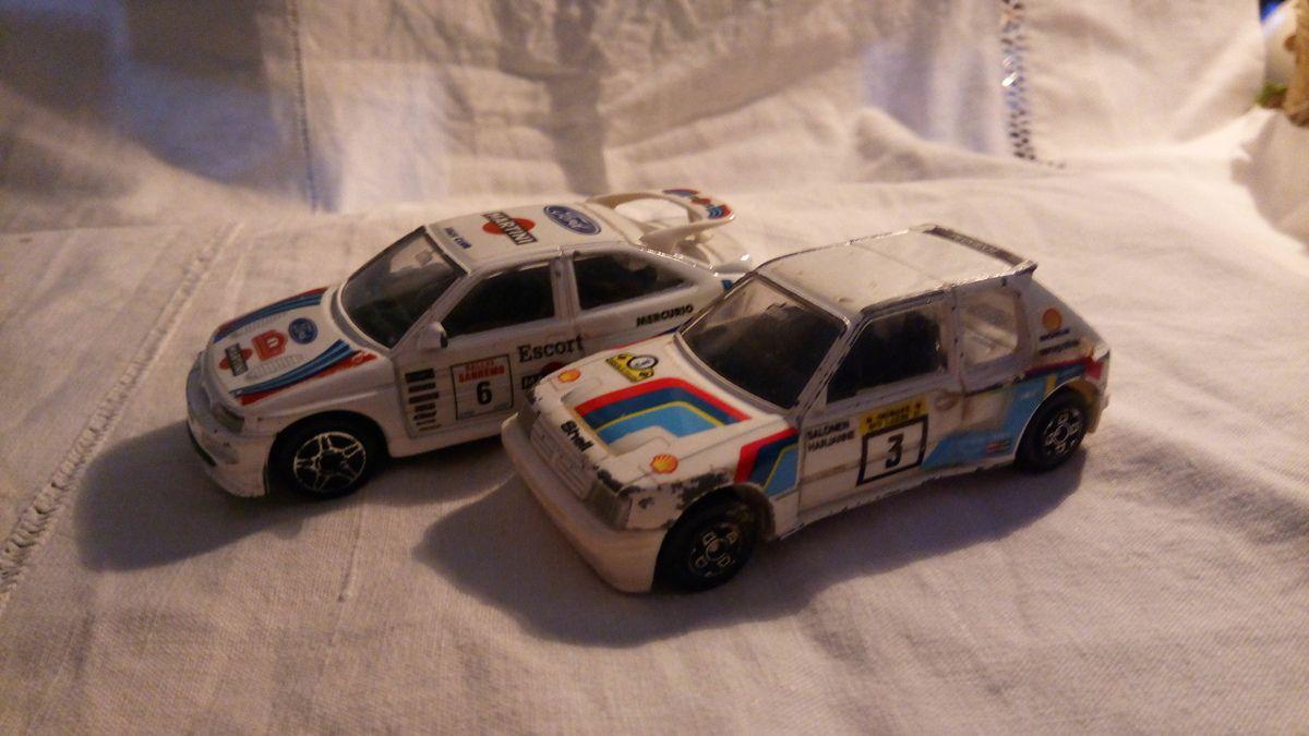 205 turbo 16 Burago 1/43 4123, ford cosworth rs , K44 surtees formula 1 1976