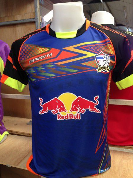 maillot thailande red bull maillots 90 minutes. Black Bedroom Furniture Sets. Home Design Ideas