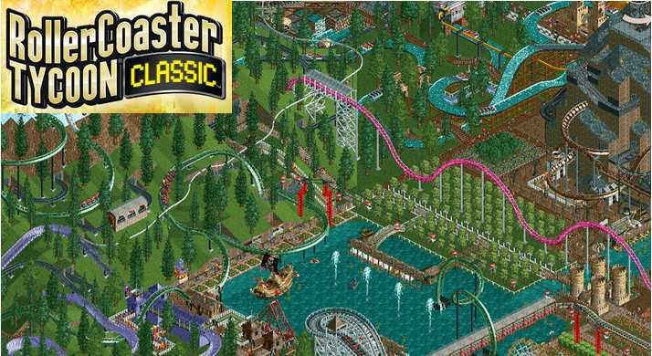 RollerCoaster Tycoon Classic : faites-y des microtransactions !
