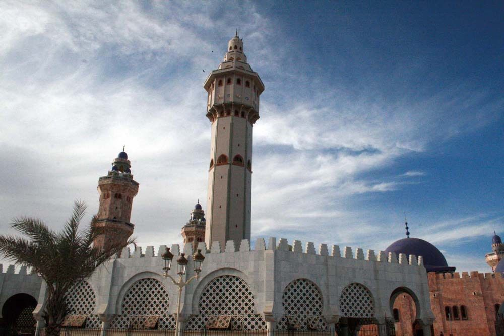 Grand mosquée de Touba ancien version Photos 2010-2011©ASSANE SOW