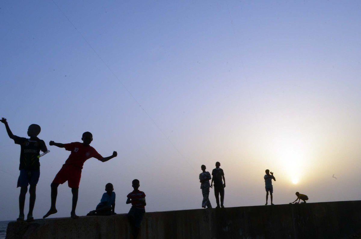 Popenguine est un village côtier du Sénégal qui se trouve à 65km au sud de Dakar et à 20 km au nord de Saly,  sur la Petite Côte photos 12 mai  2015 ©Assane SOW