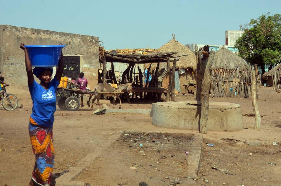 Problème de l'accès à l'eau potable difficultés majeur pour les  populations de Lelekone (Goudiry) © Assane SOW