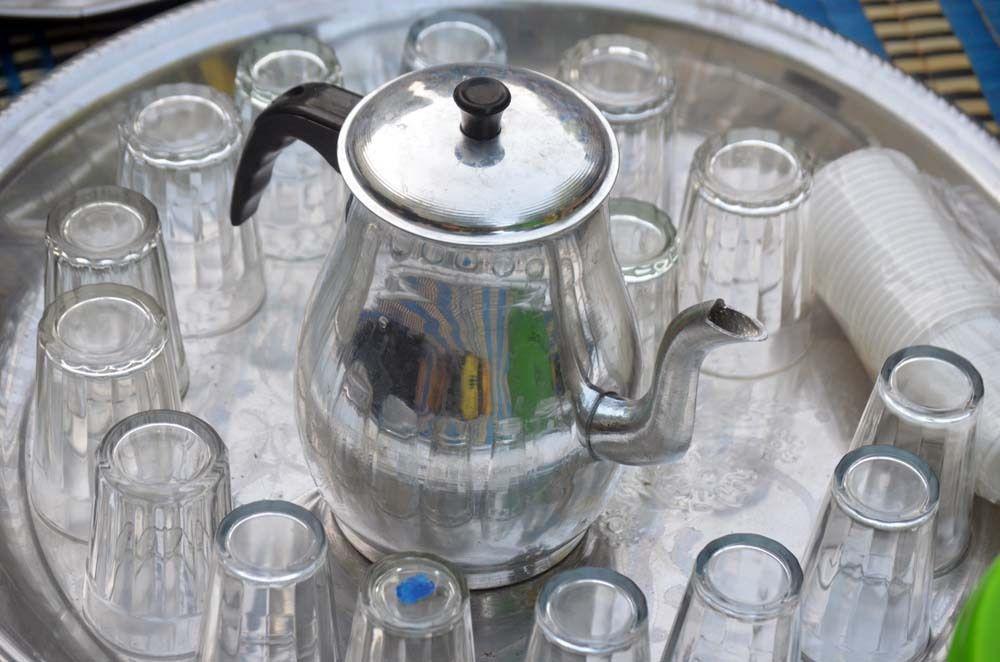 """Touba Sénégal pendant le mois de Ramadan, les baaye Fall préparé repas """"ndogou"""" pour la rupture du jeûne tous les soirs © Assane SOW"""