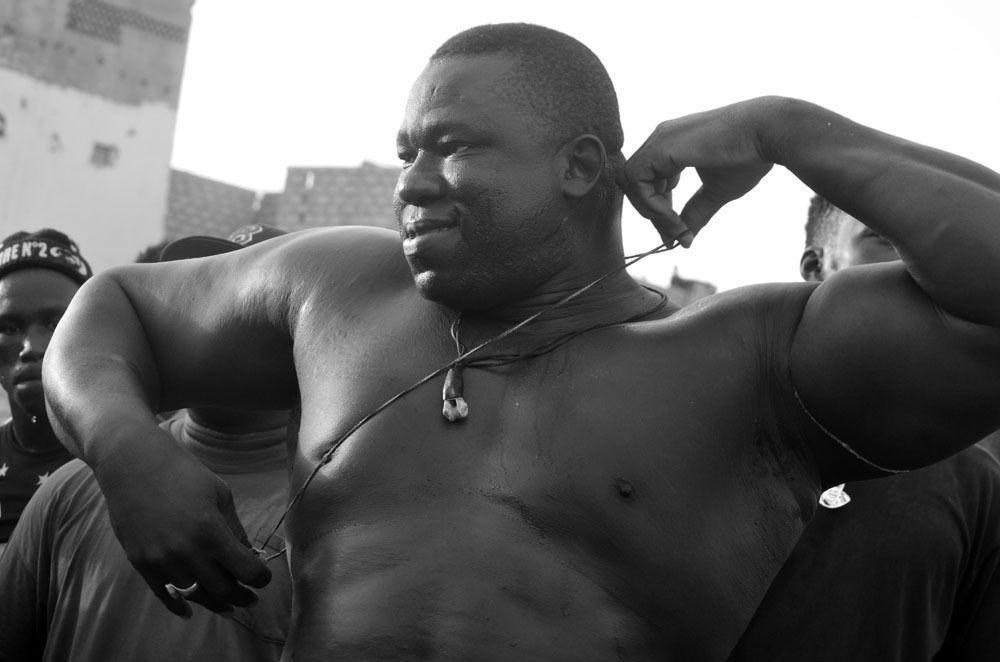 Dakar Senegal ( lutte ) En « open press » hier, dans son repaire à la Médina, Yékini a dit son souhait de commencer une nouvelle ère le 24 juillet prochain ©Assane SOW