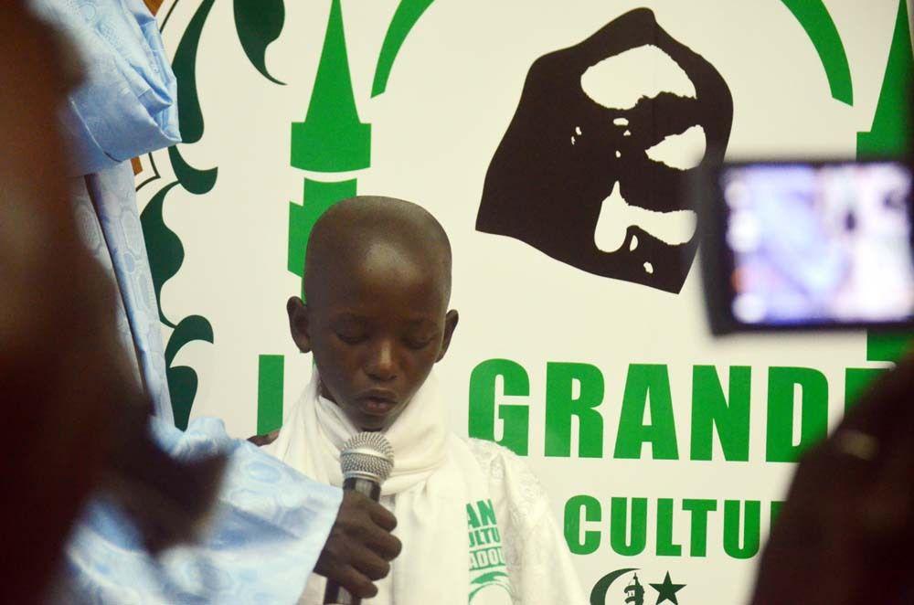Dakar Sénégal première édition des ''grandes journées culturelles Cheikh Ahmadou Bamba'', à l'initiative du Hizbut-Tarqiyyah, cérémonie ouverture 16 juillet 2016 © Assane SOW