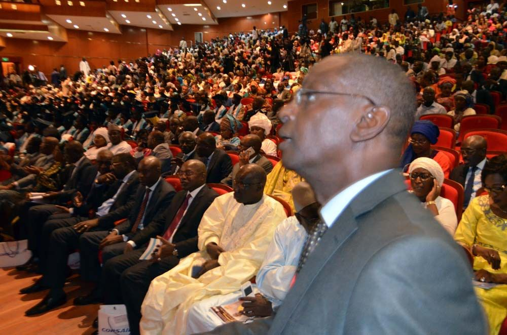 Remise des prix du Concours général 2016 cérémonie solennelle au Grand Théâtre de Dakar. © Assane SOW