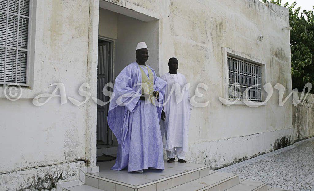 Visite S E Macky  Sall  14 September 2009 Chez Serigne Abdou Fatah Mbacké a Taif avec forte délégation APR