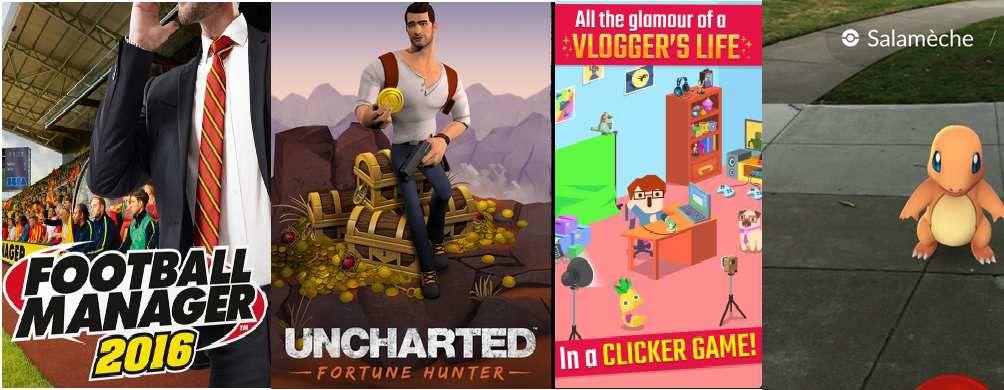 Les jeux mobiles qui font le buzz sur la Toile