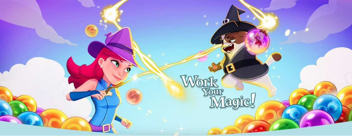 Le jeu Bubble Witch 3 Saga