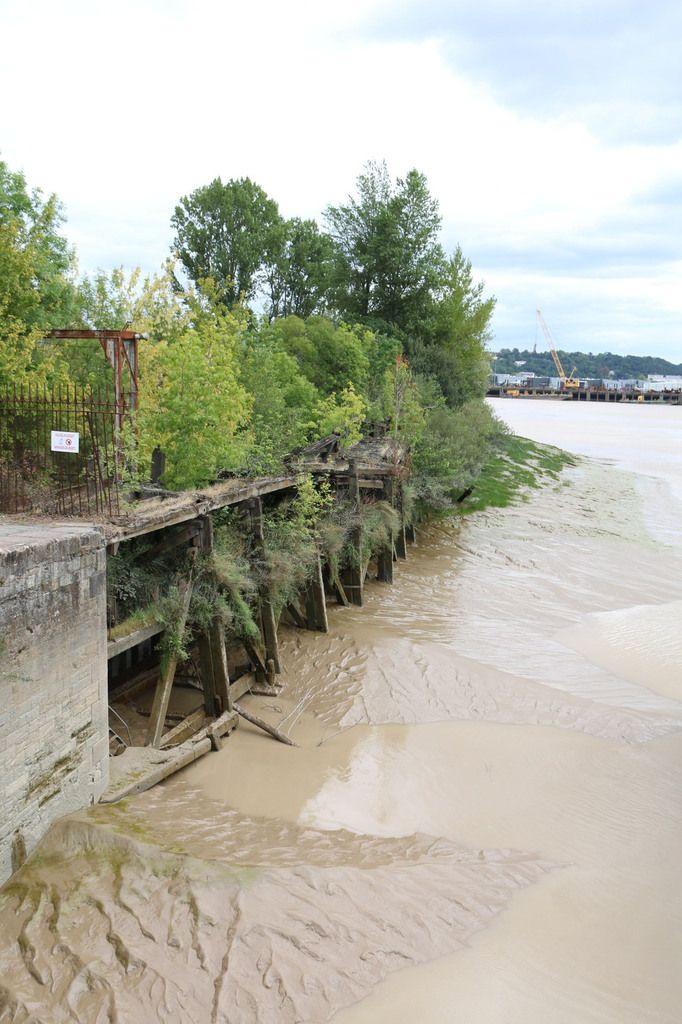 Les quais de Bordeaux, côté Bacalan