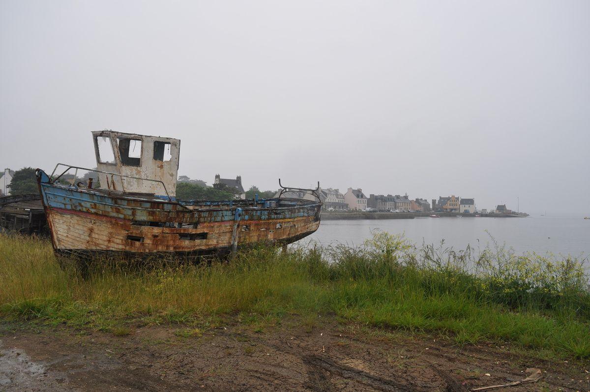 Euh... t'es sûr qu'il va nous emmener jusqu'à Brest ce bateau ?!