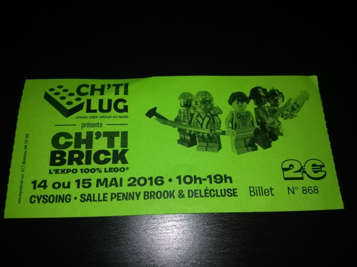 Résumé Expo CH'TI BRICK Cysoing 14&amp&#x3B;15 mai 2016