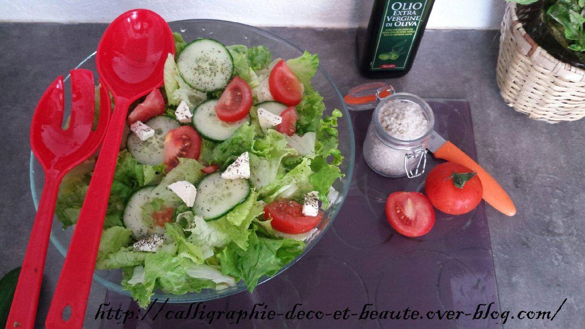 Couverts à salades