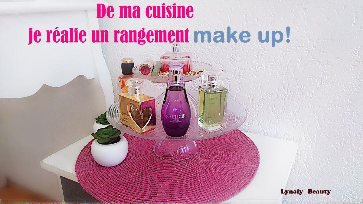 Diy Rangement Make Up De Ma Cuisine Je Réalise Mon